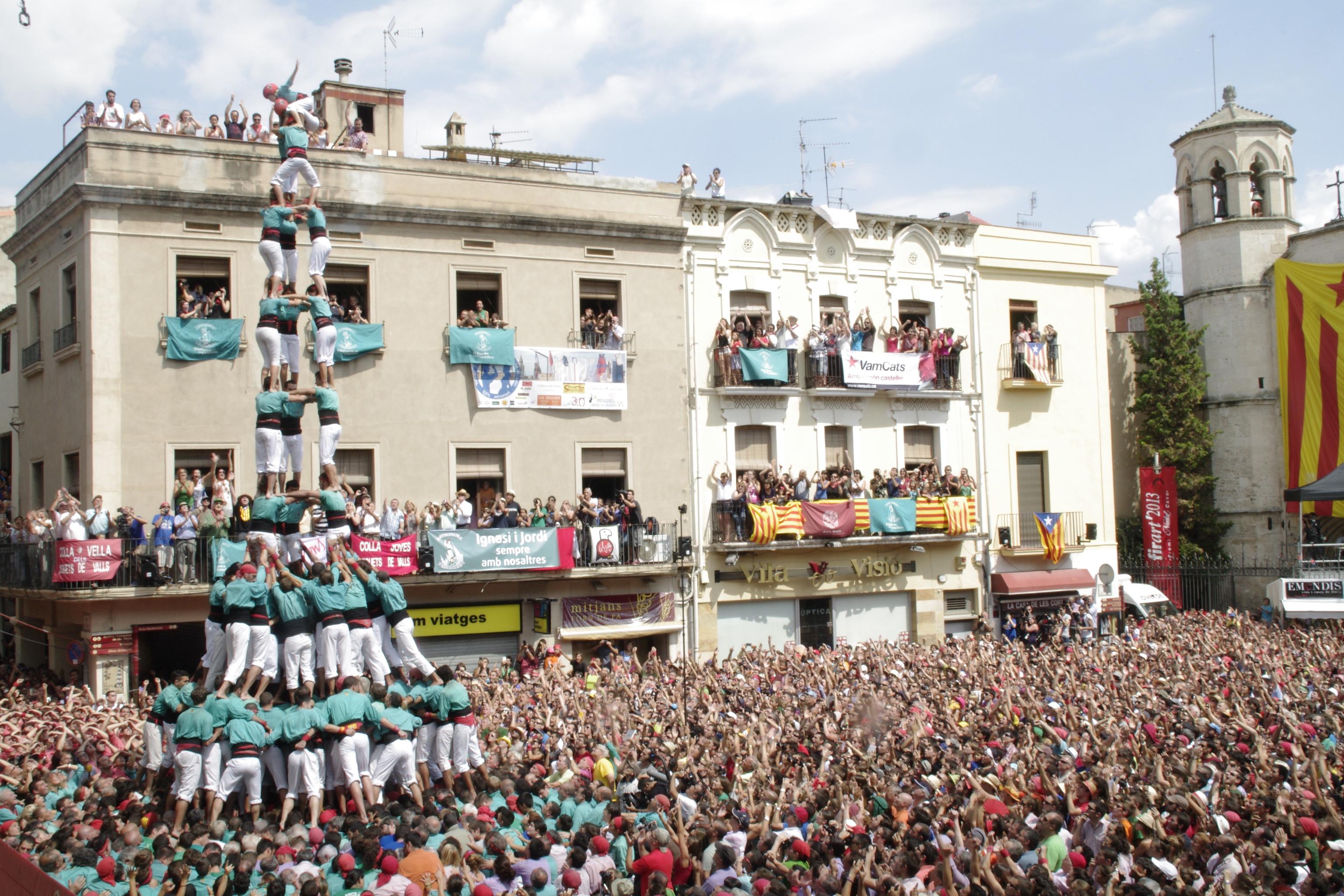 Castellers Vilafranca © Servei Promoció Turística - Ajuntament Vilafranca