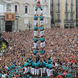 Ou Voir des Castellers en Catalogne
