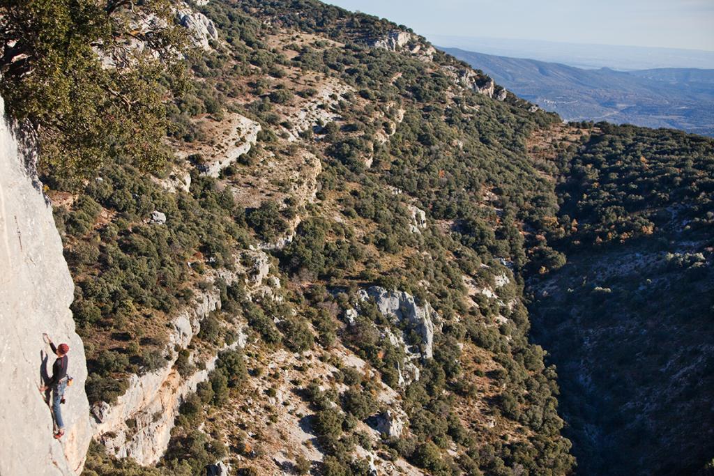 Escalade, Ager, Montsec, Catalogne