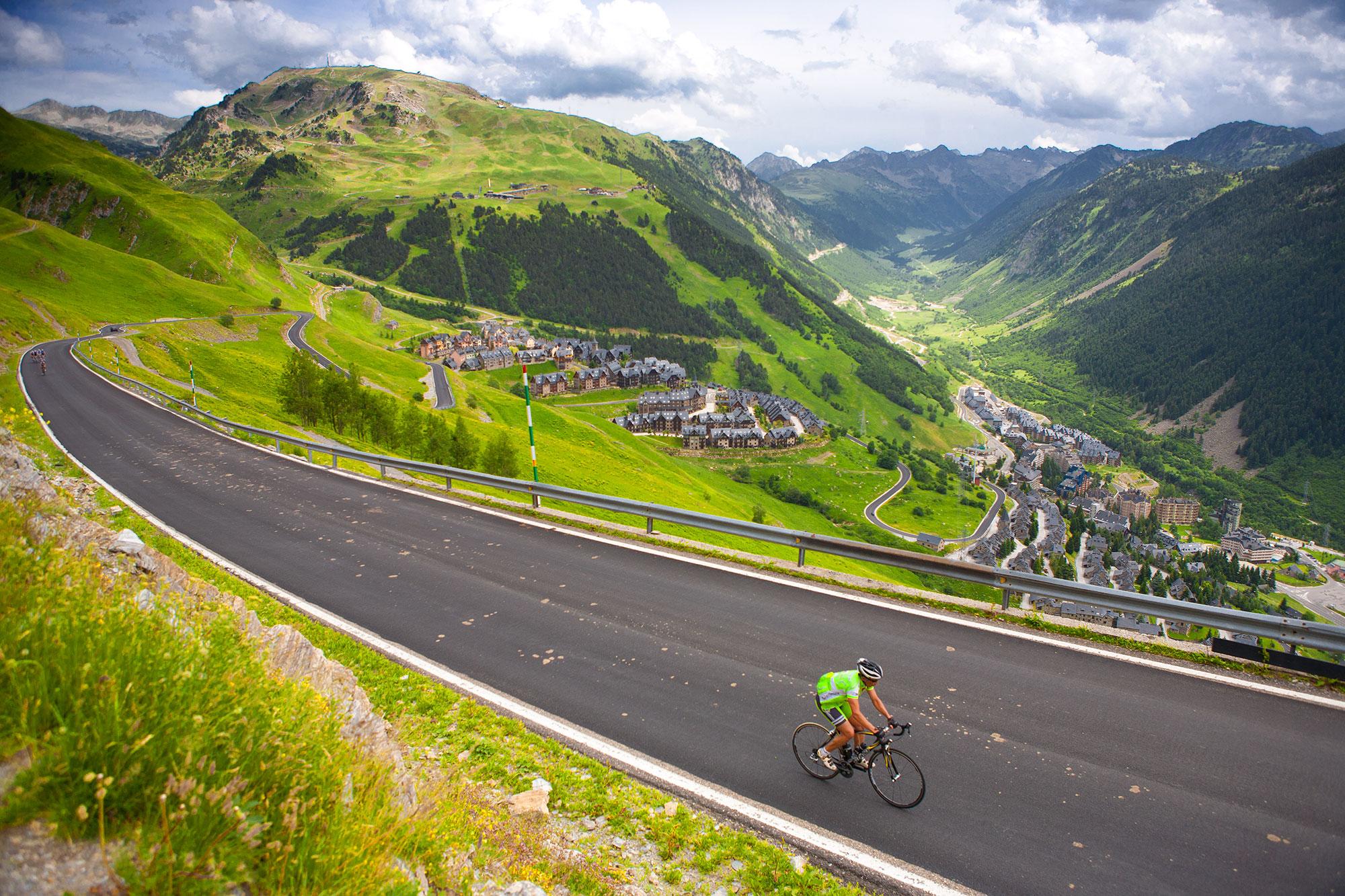 Vélo à Baqueira-Beret - Vall-d'Aran © Torisme Val d'Aran