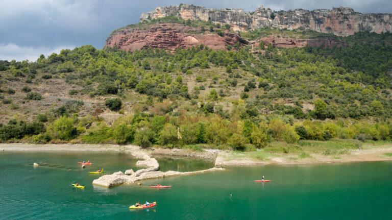Edited 09092014 Pantà De Siurana Kayak 2 © Canoa Kayak Siurana