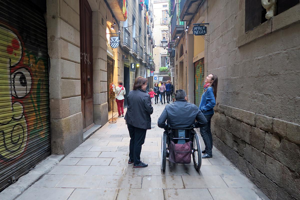 Découverte du quartier gothique avec Barcelona Zero Limits