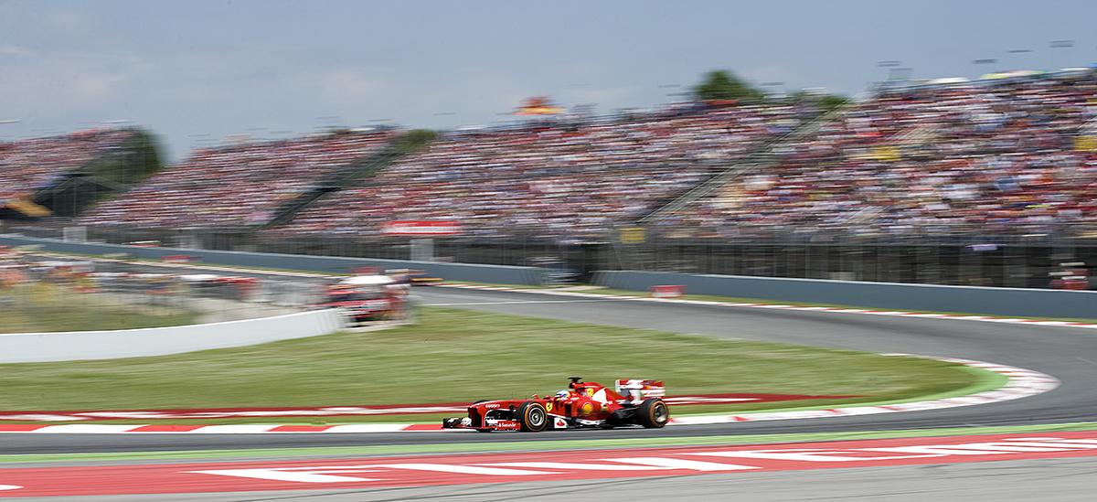 Circuit F1 Catalogne