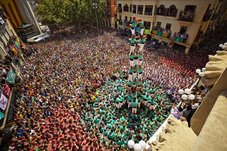 Tours humaines à Vilafranca del Penedès © Servei Promoció Turística - Ajuntament de Vilafranca