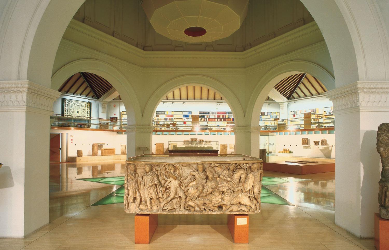 Salle d'époque romaine, Musée d'Archeologie, Barcelona © IMAS