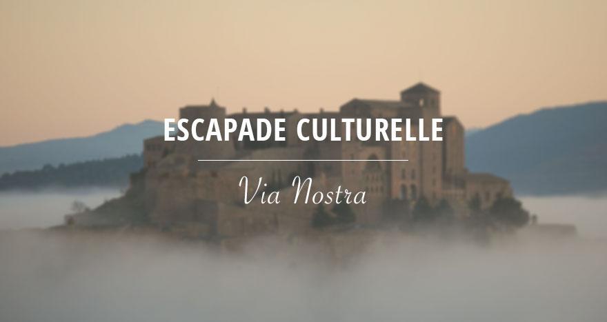Escapade culturelle via nostra