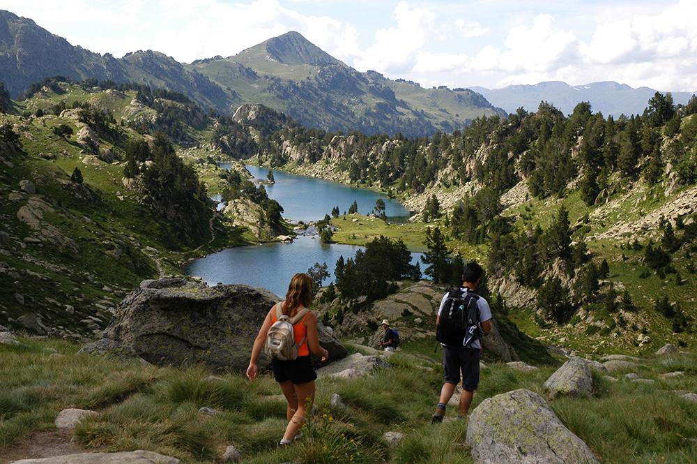 Lac Colomers, Val d'Aran