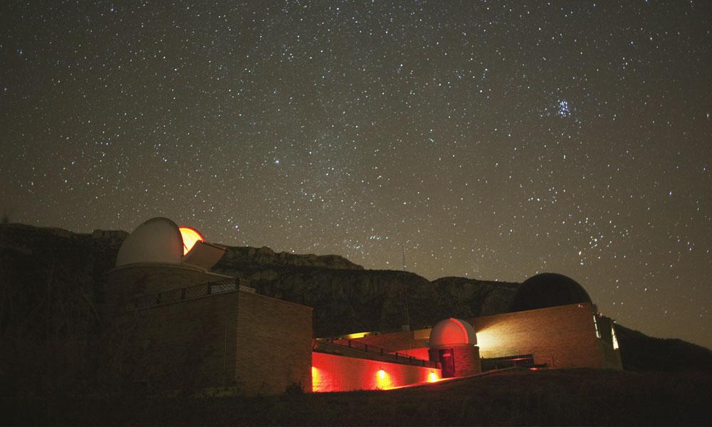 Parc Astronòmic del Montsec, Ager, La Noguera © Oriol Clavera
