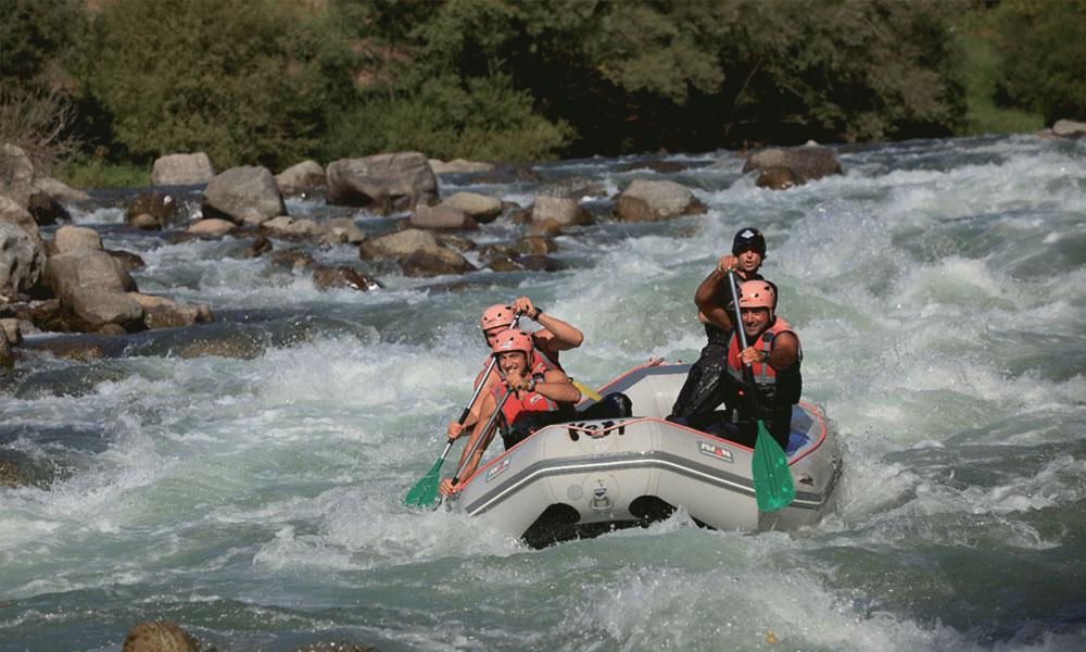 Rafting Noguera Pallaresa © Cablepress