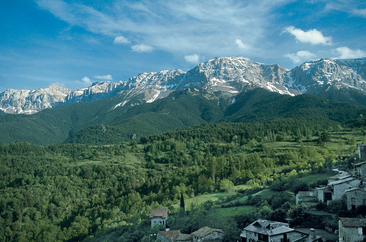 Serra du Cadí depuis Querforadat © Georama
