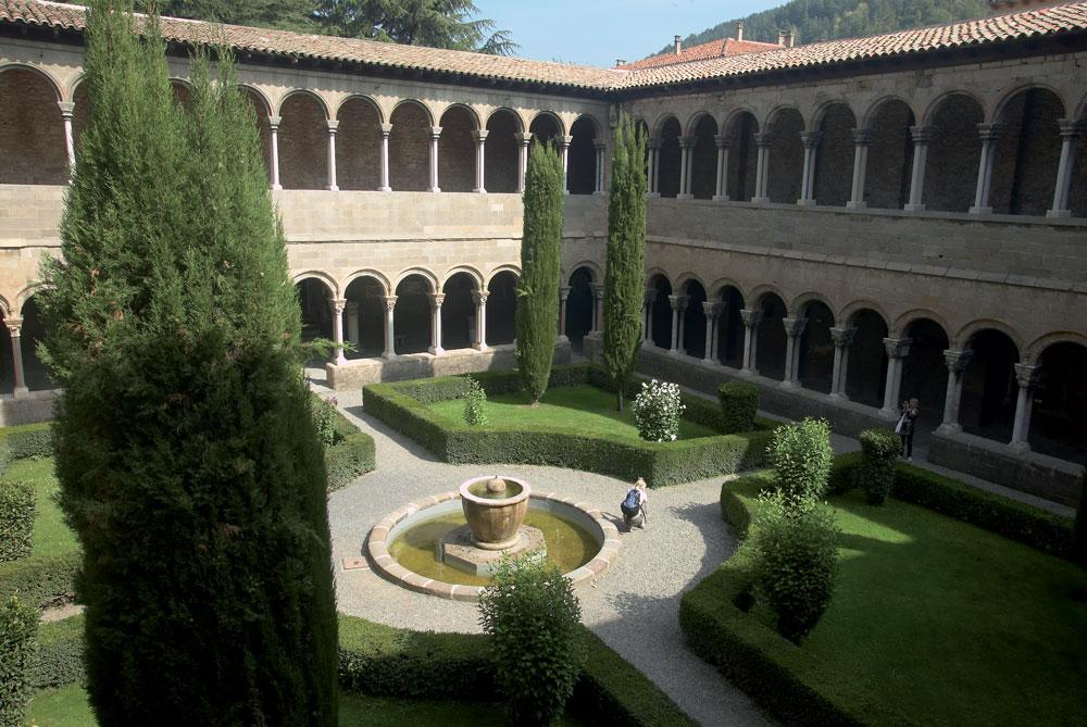 Cloître du Monastère de Ripoll © Cablepress