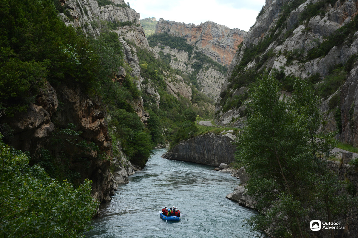 Rafting © Outdoor Adventour