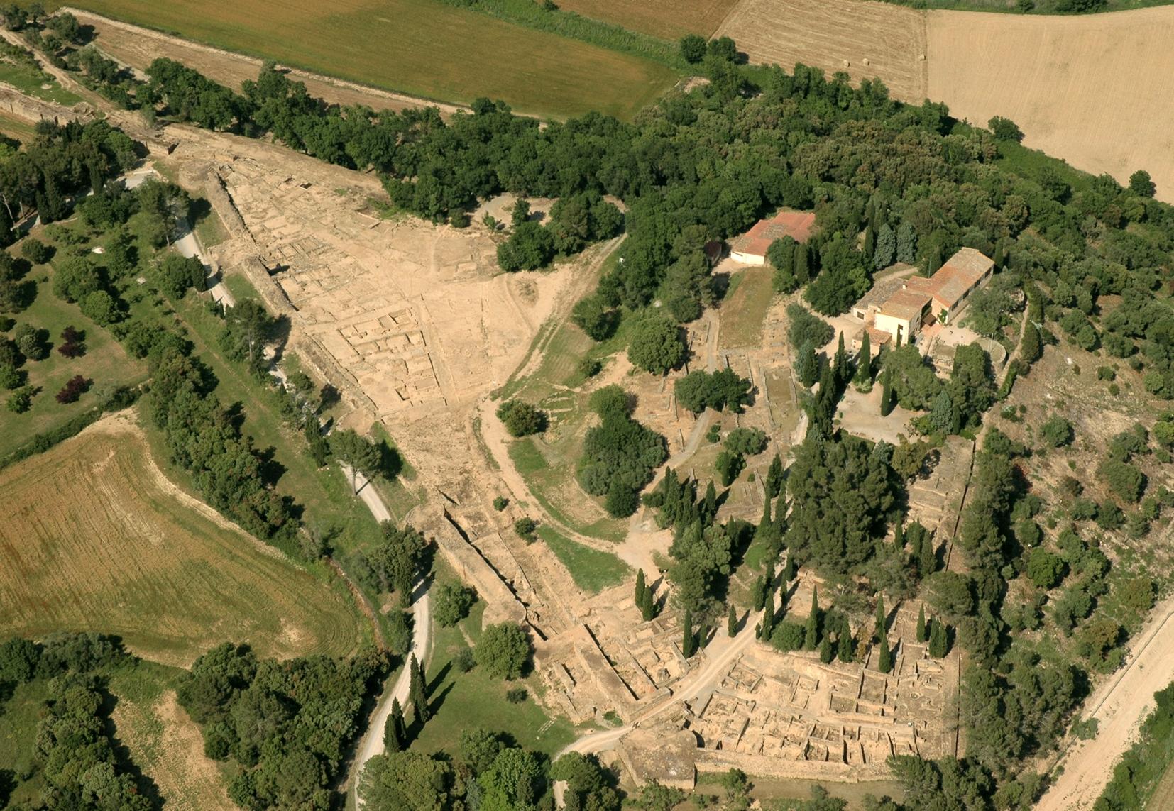 Cité Iberique d'Ullastret © Museu d'Arqueologia de Catalunya Ö Ullastret