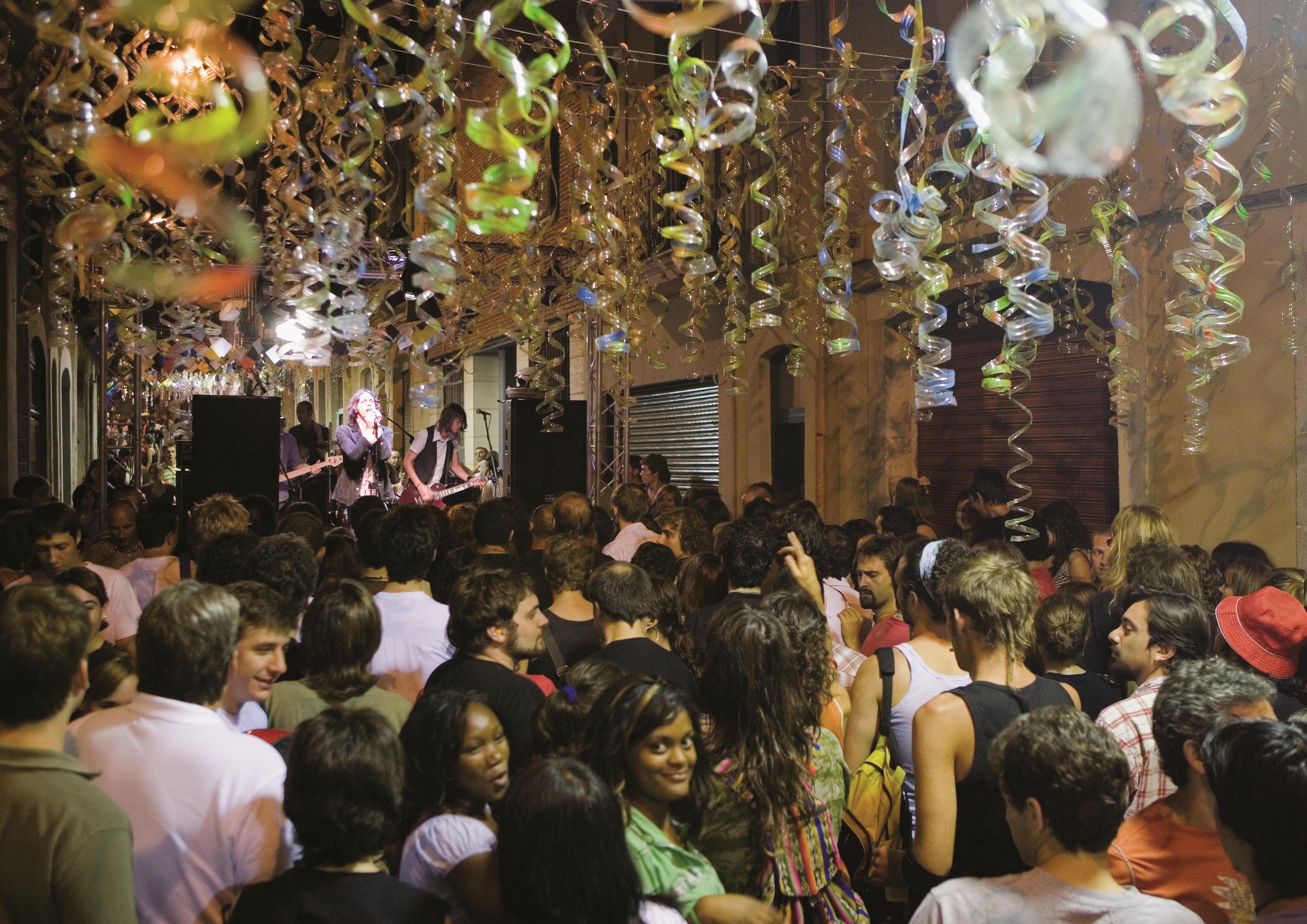 Concerts dans les rues © Oriol Llauradó