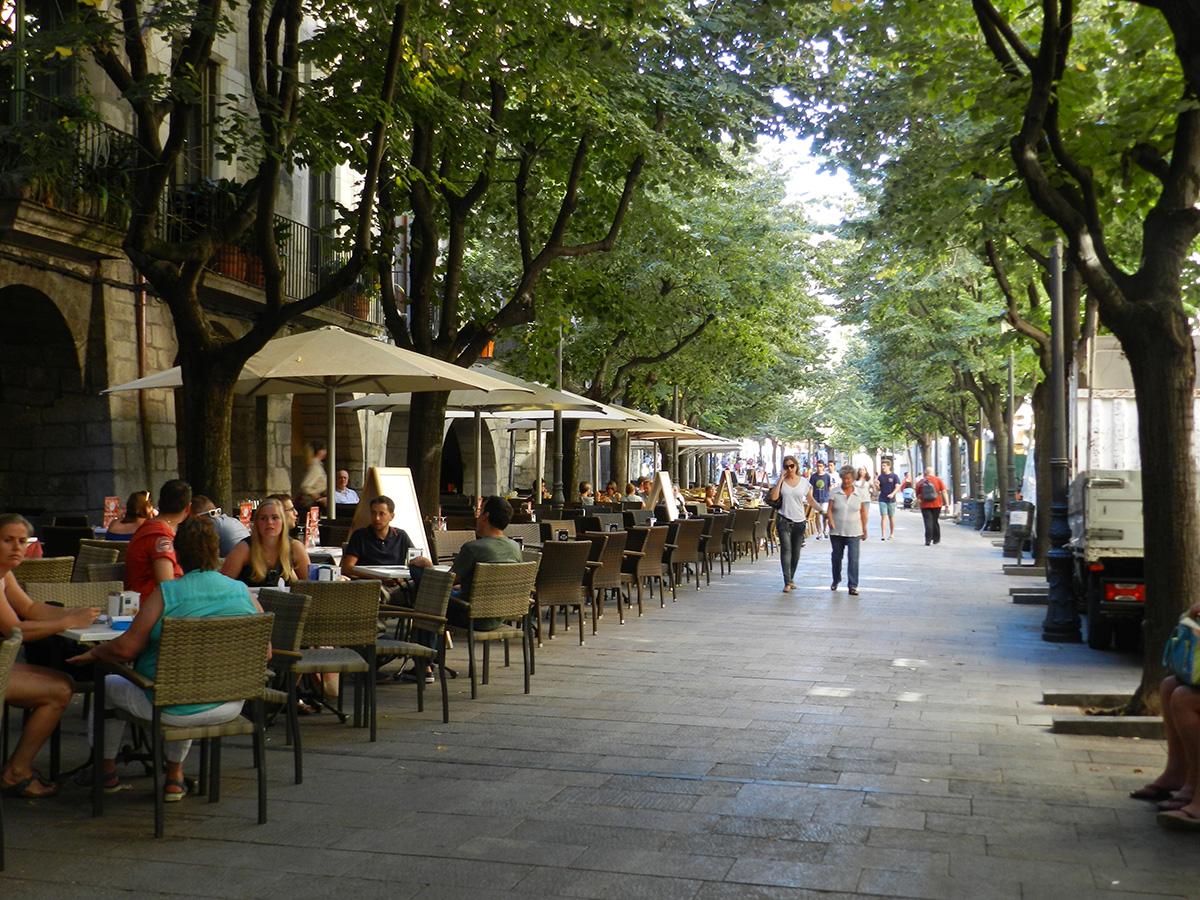Rambla de la Llibertat © Tourisme de la Catalogne