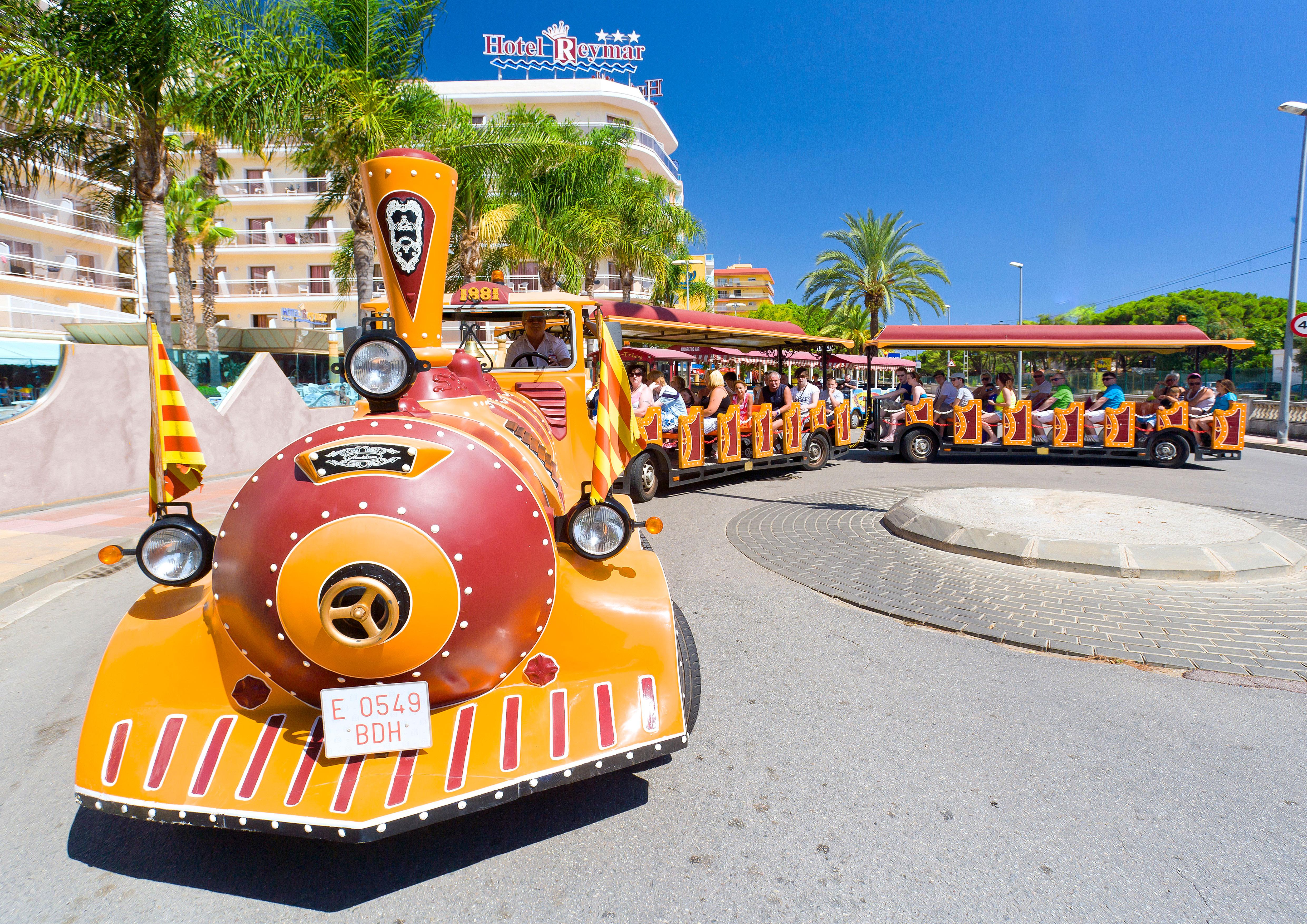 Train touristique de Santa Susanna © Miguel Angel Alvarez