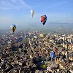 Montgolfières à Vic © M. Masallera