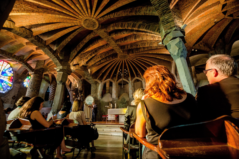 Crypte Gaudí de la Colònia Güell © Nuria Puentes