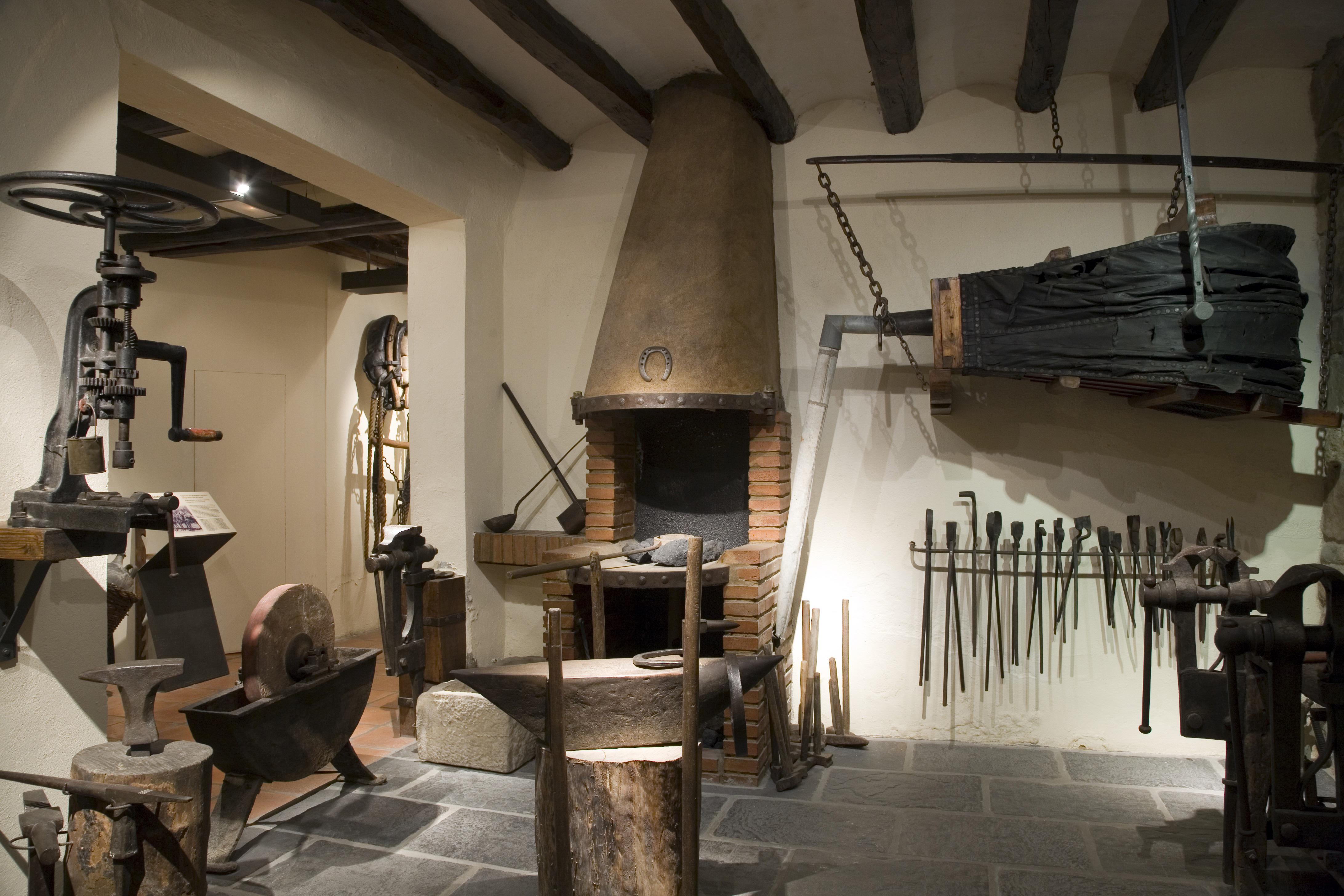 Forgeron. Museu del Traginer, à Igualada © Imagen M.A.S.