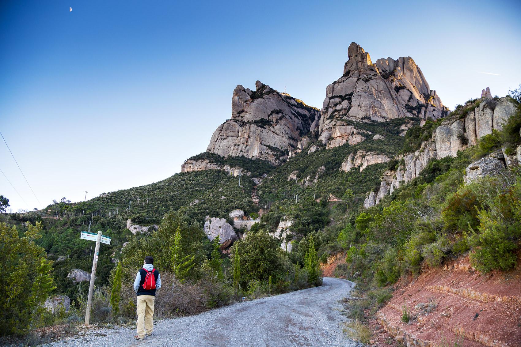 Chemin de Saint Jacques, Montserrat © Nuria Puentes