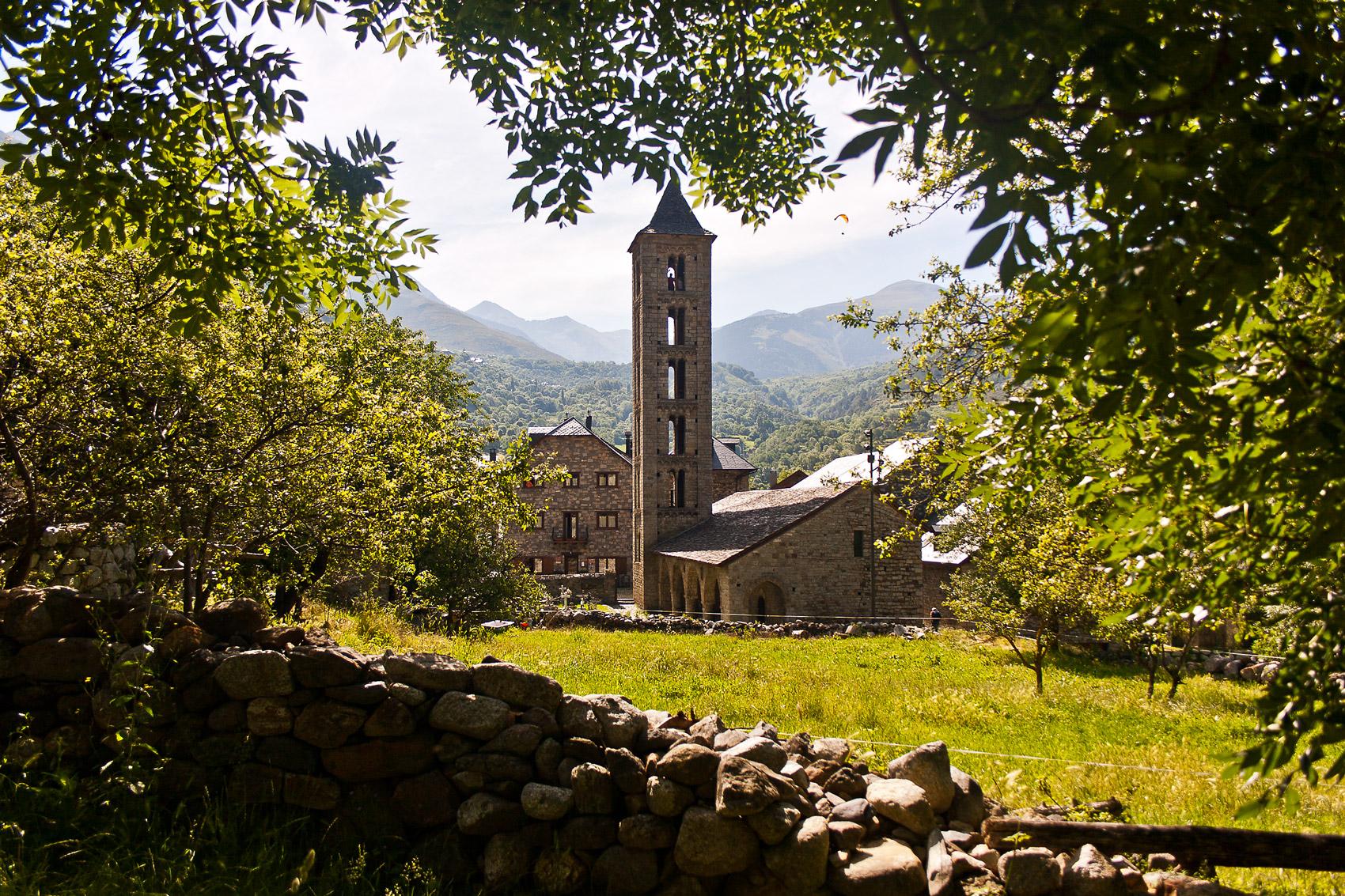 Eglise romane, Santa Eulàlia d'Erill la Vall © Miguel Ángel Herrero Varela