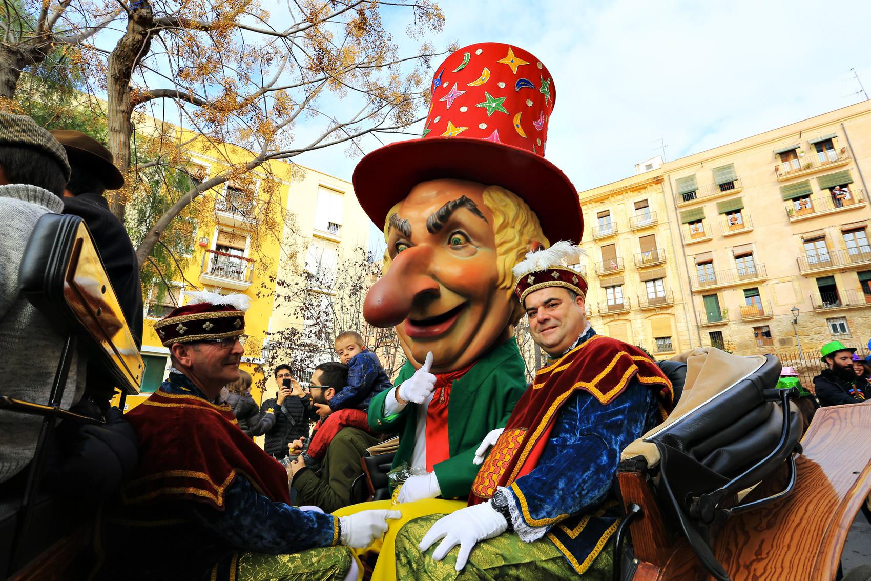 L'homme des nez © Tarragona Turisme - Manel R. Granell