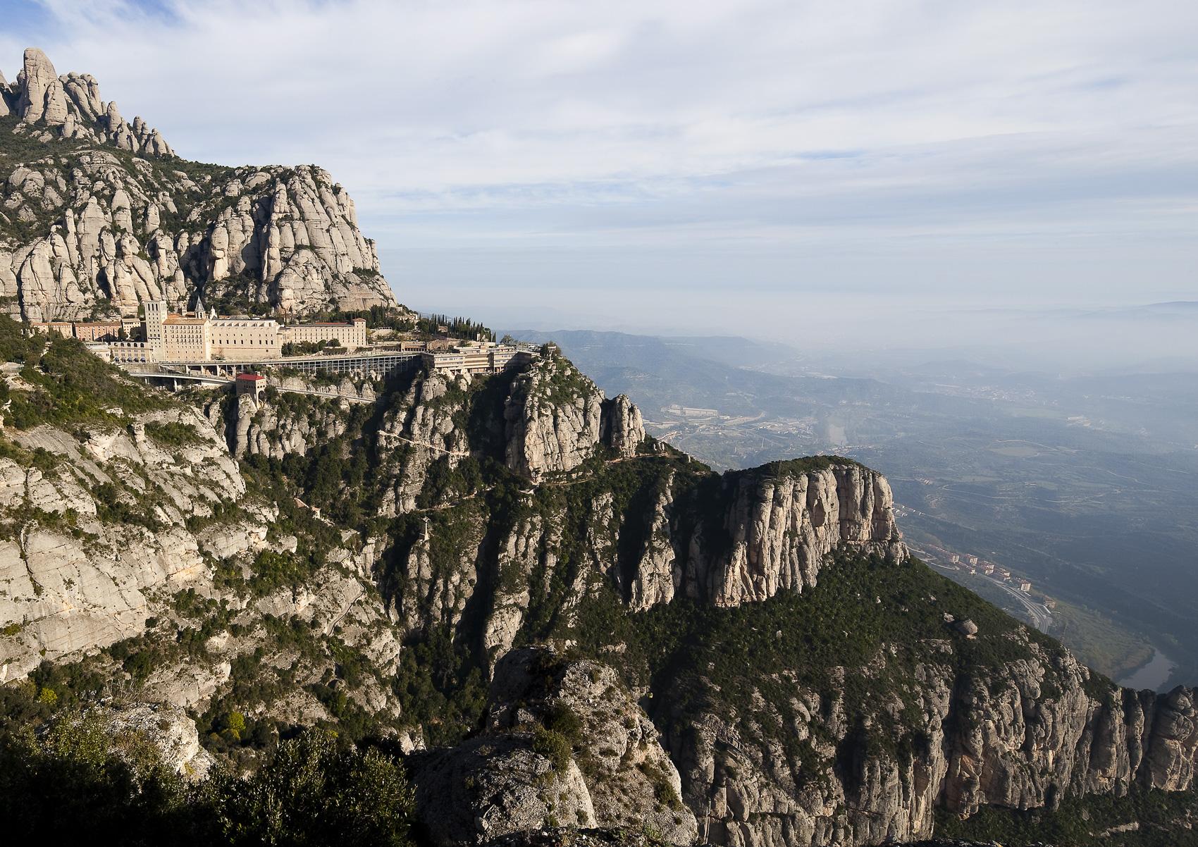 Monastère et montagne de Montserrat © Juan José Pascual