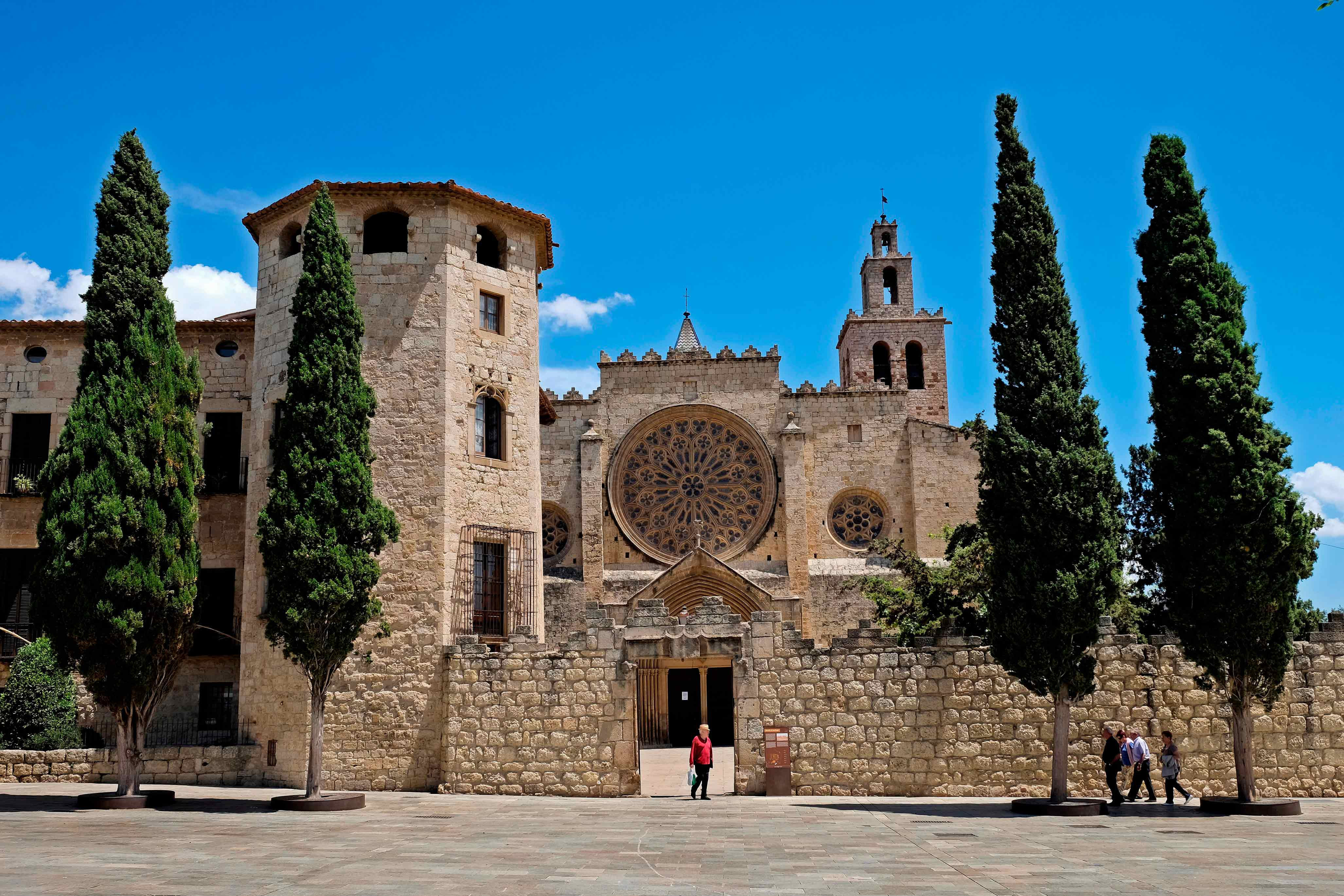 Monastère de Sant Cugat © Mané Espinosa - Ajuntament de Sant Cugat