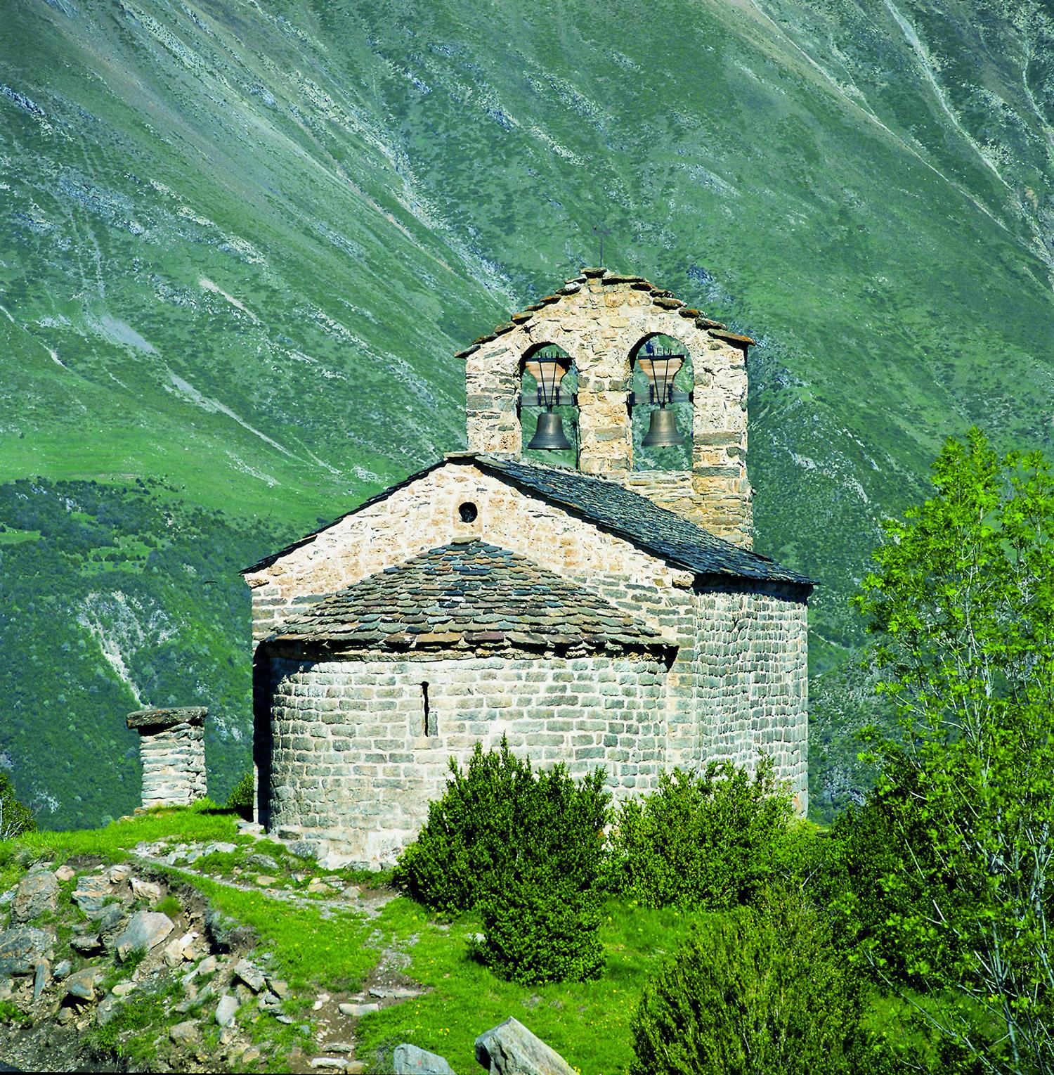 Eglise de Sant Quirc de Durro Terres de Lleida © Imagen M.A.S.