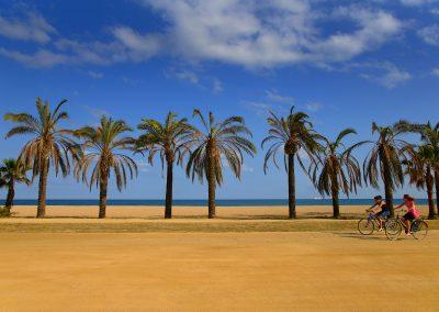 Explorer, en duo, les paysages de la côte du Maresme