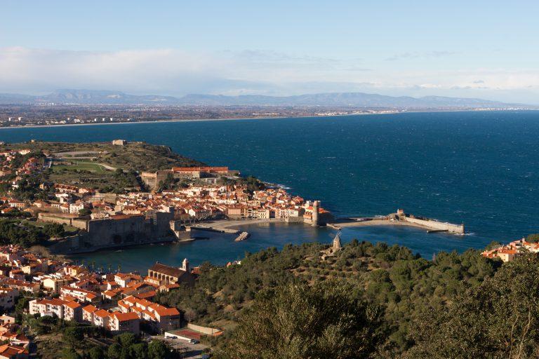 Collioure vue du Fort St-Elme ©ADT66