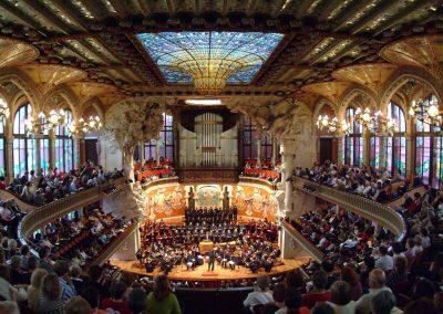 Les concerts d'été au Palau de la Música