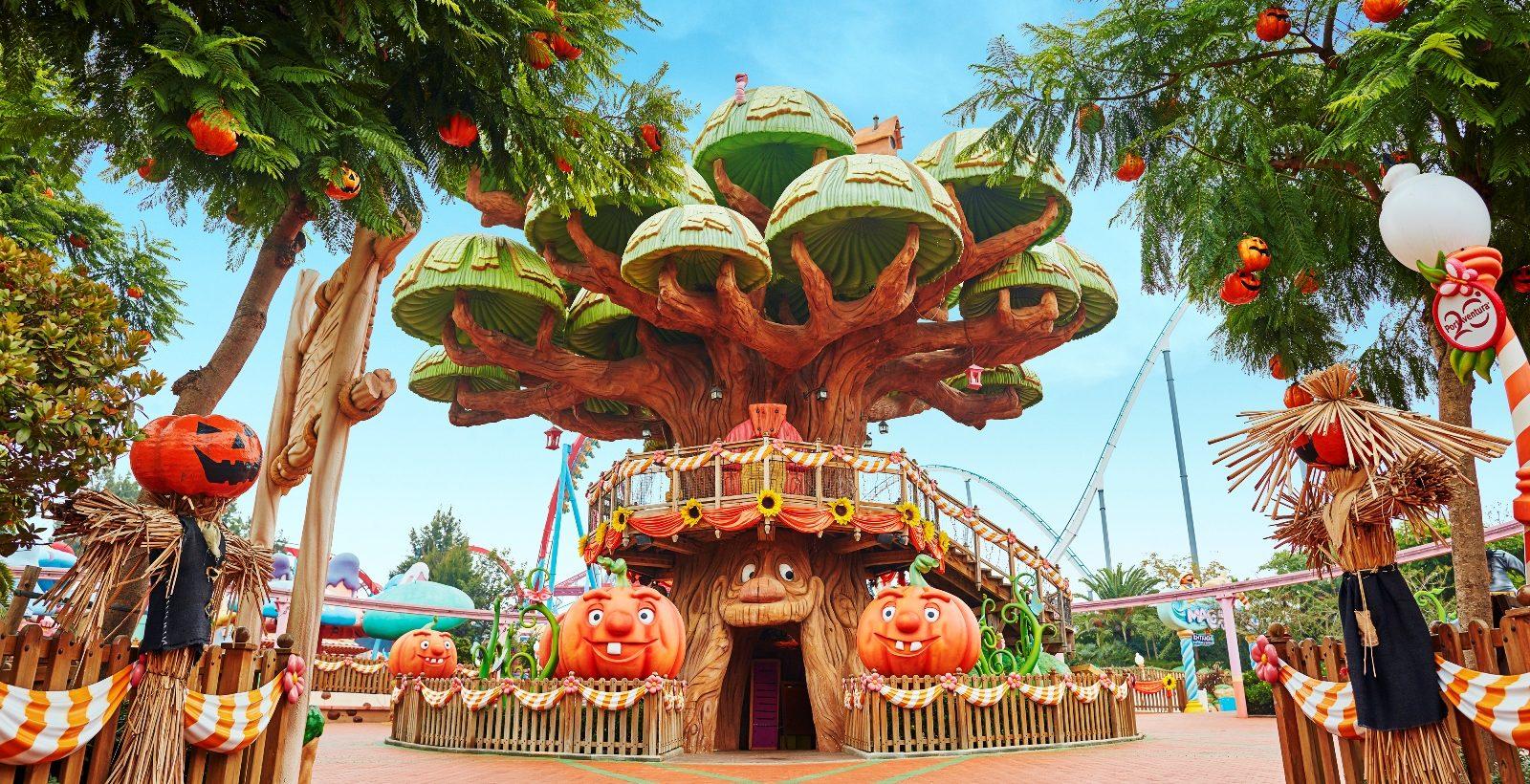 Du 23 septembre au 19 novembre, c'est Halloween à PortAventura Park