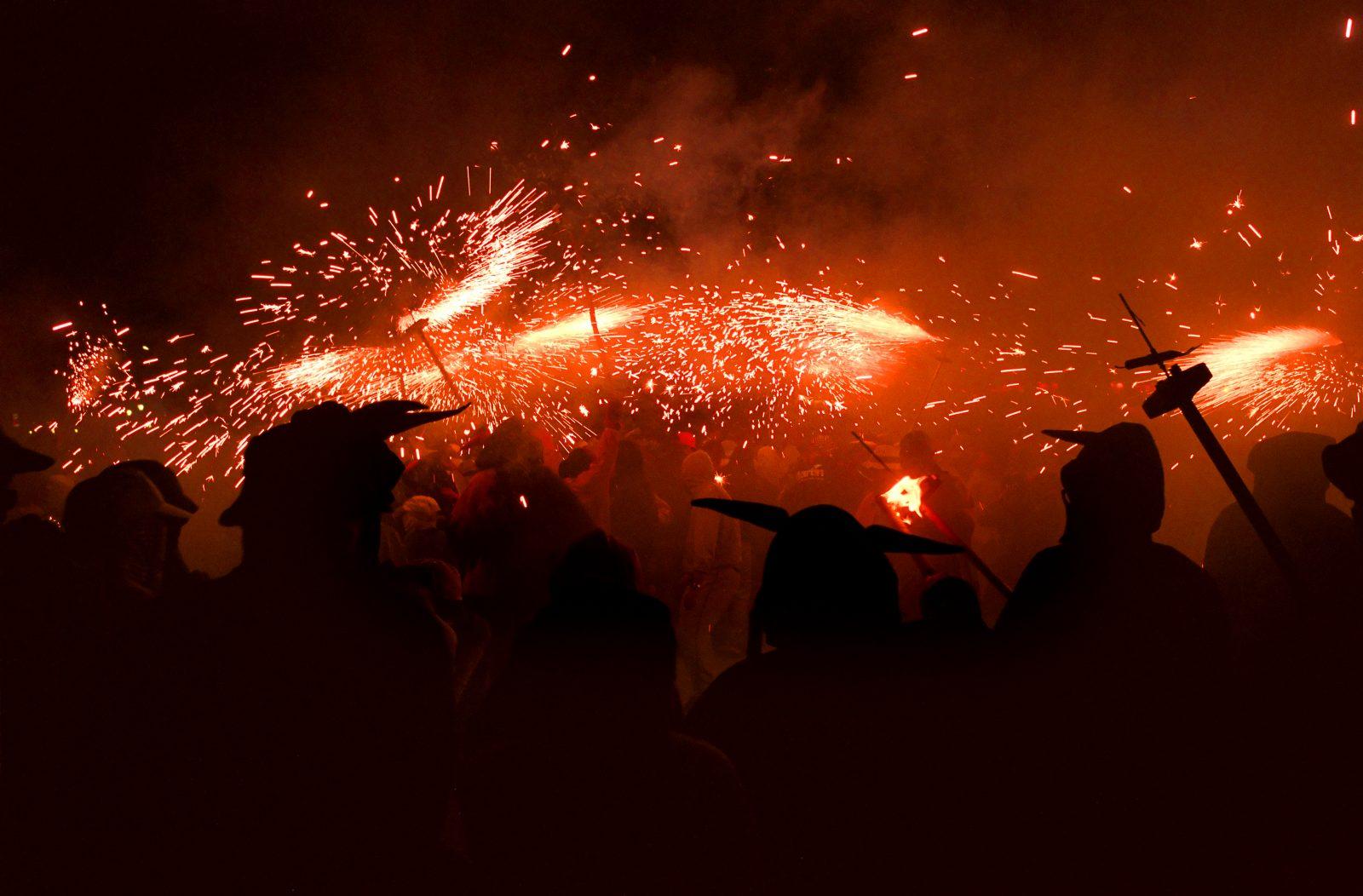 Célébrer la fête de la Mercè à Barcelone
