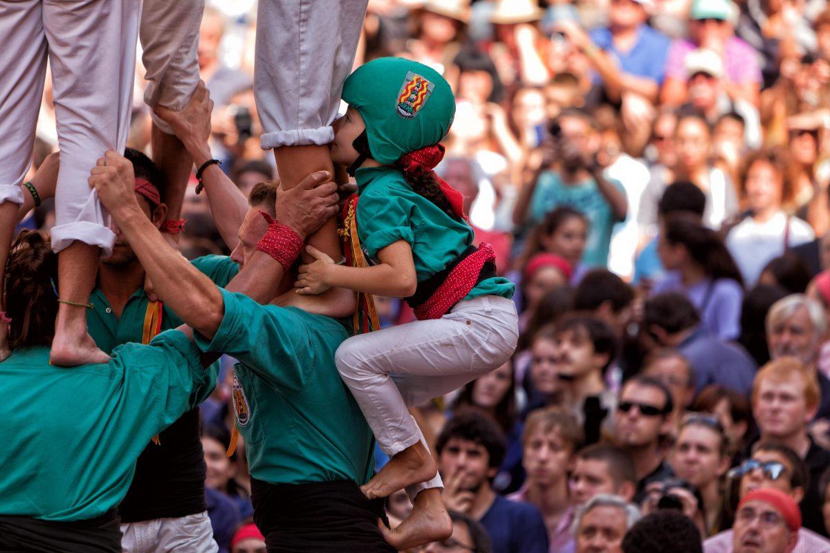 Assistez au plus grand spectacle de Castellers en Catalogne!
