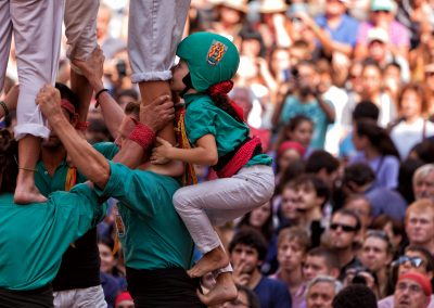 Assistez au plus grand spectacle de Castellers en Catalogne!
