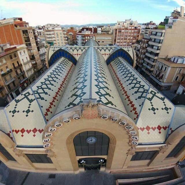 Marché Central de la ville - Tarragone