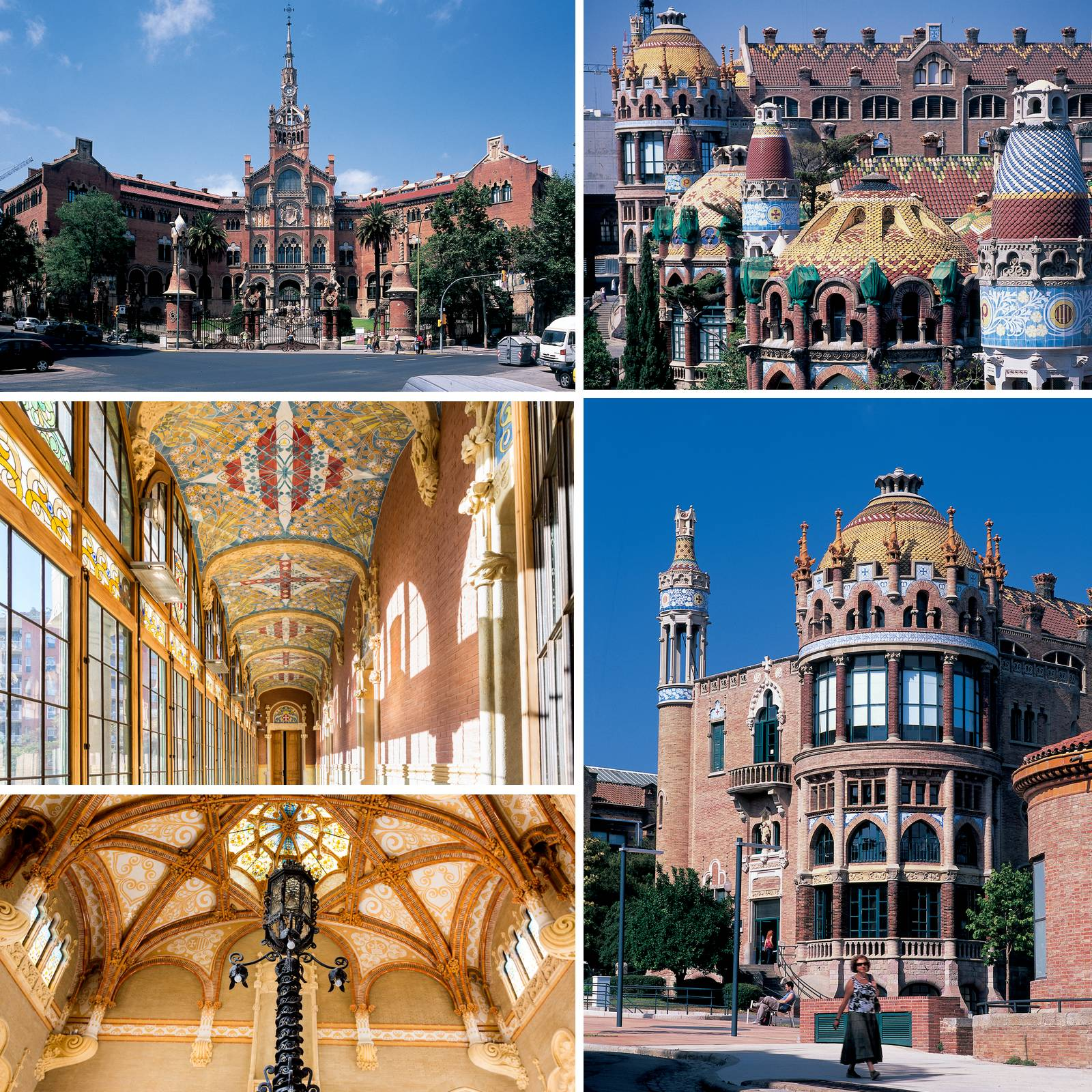 48h Open House Barcelone - Hopital Sant Pau