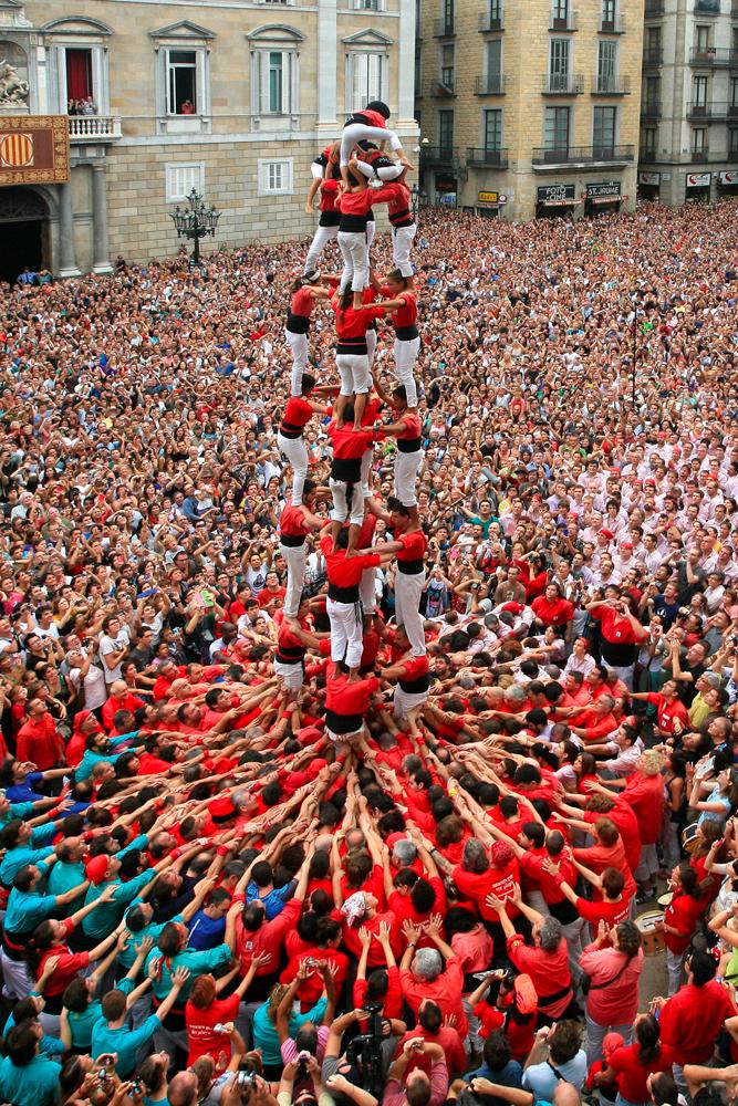 Castellers de Barcelone