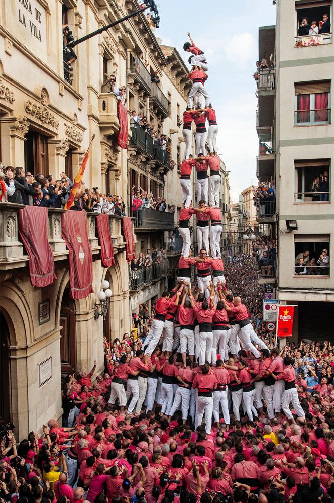 Castellers de Valls Pere Toda