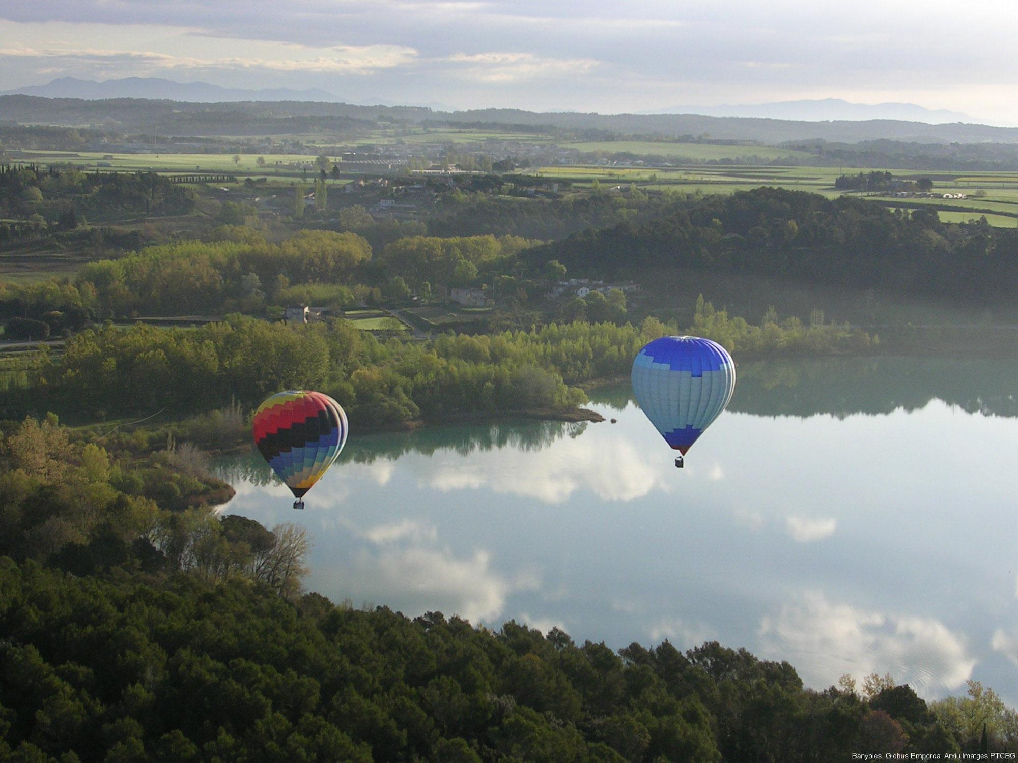 Montgolfières à Banyoles