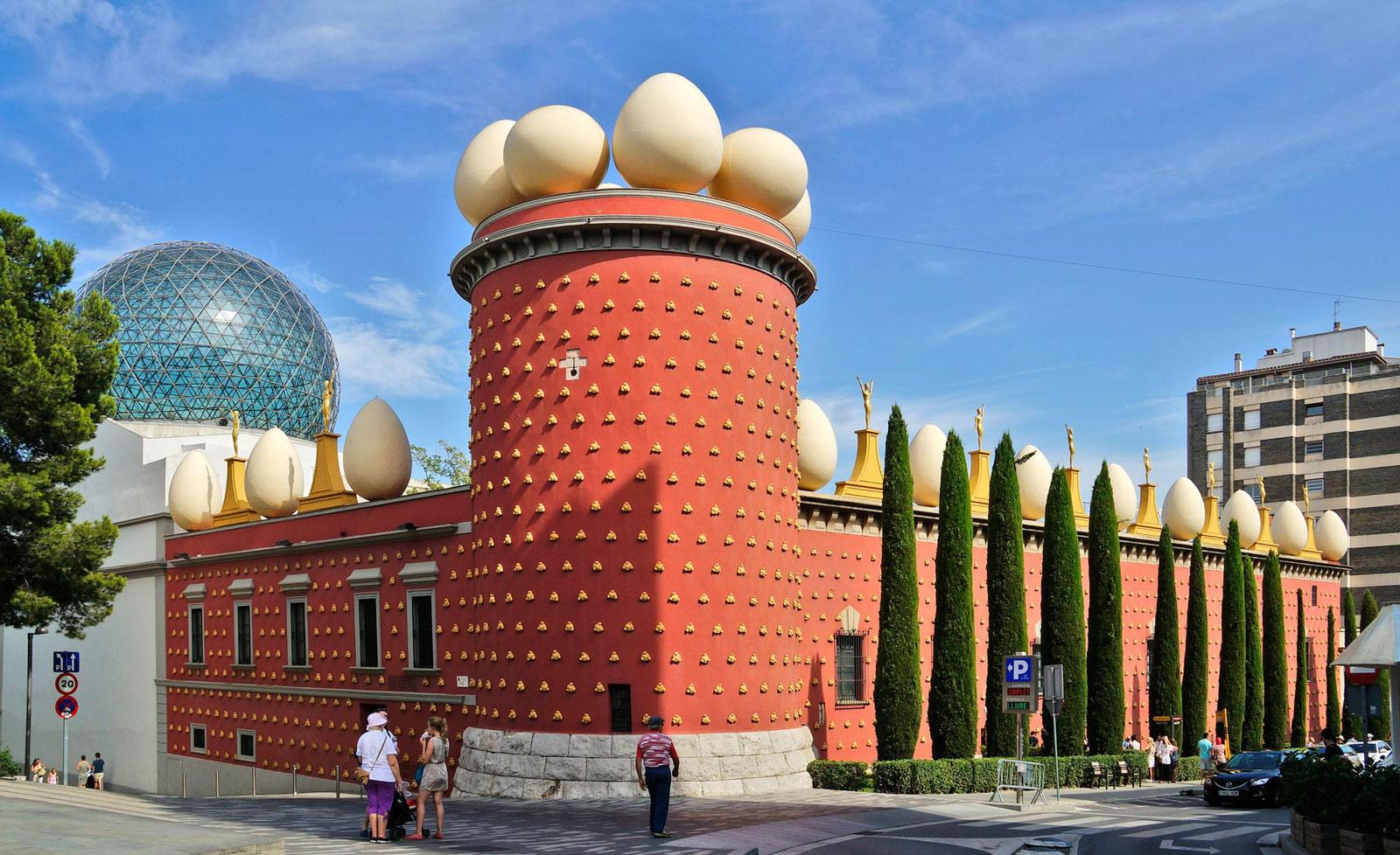 Théâtre musée Dali de Figueres