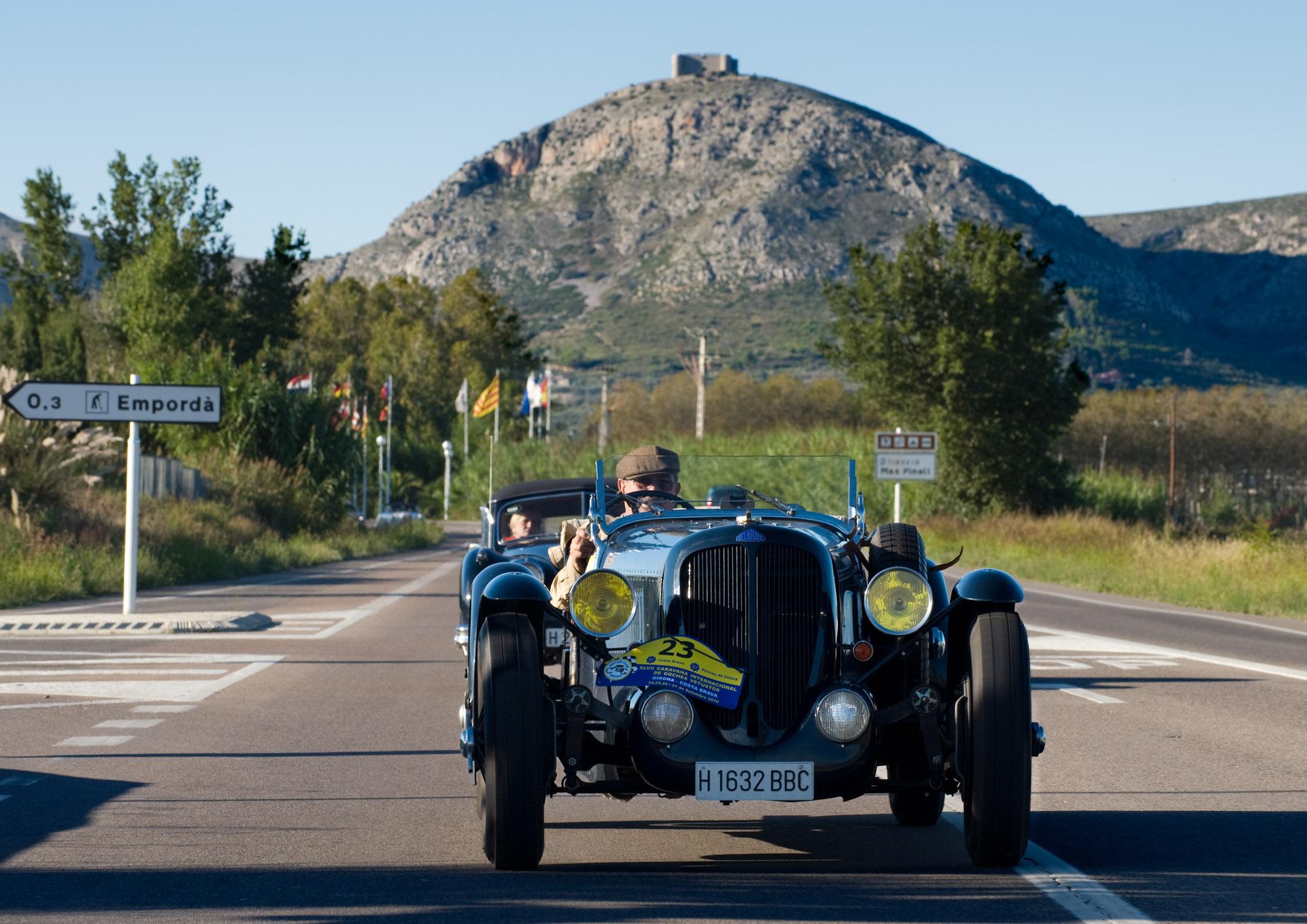 La 46ème caravane de voitures anciennes de Gérone