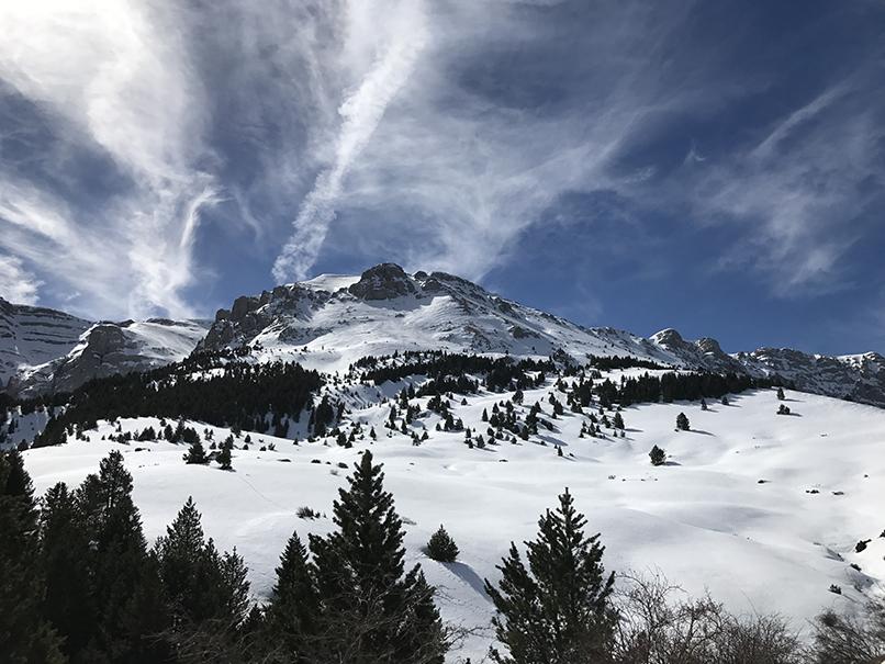 Prat d'Aguilo en hiver