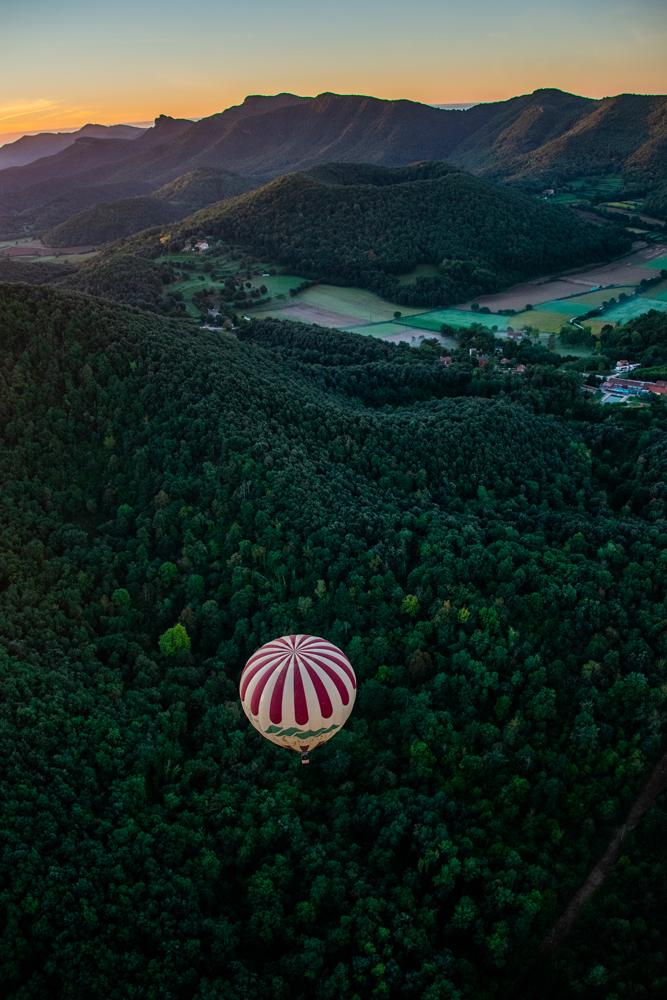 Vol de coloms - Garrotxa © My Destination