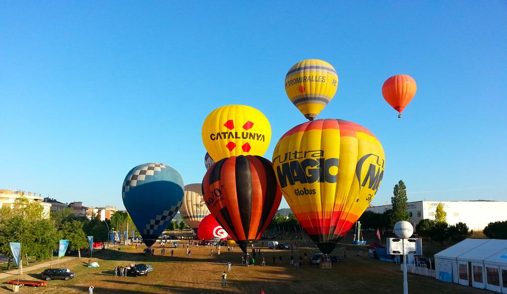 Festival Européen de la montgolfière