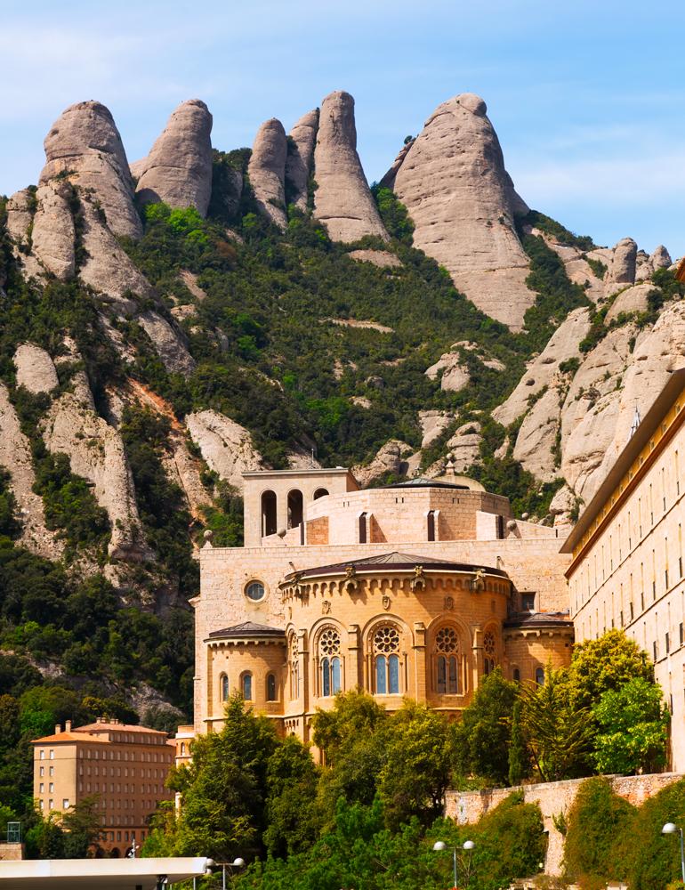Montserrat - monastère