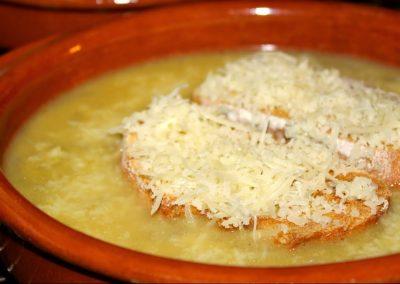 Recette de la sopa de ceba