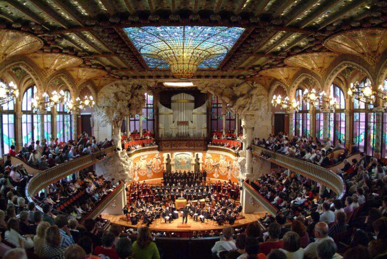 Palais de la musique Catalane © Palais de la musique Catalane