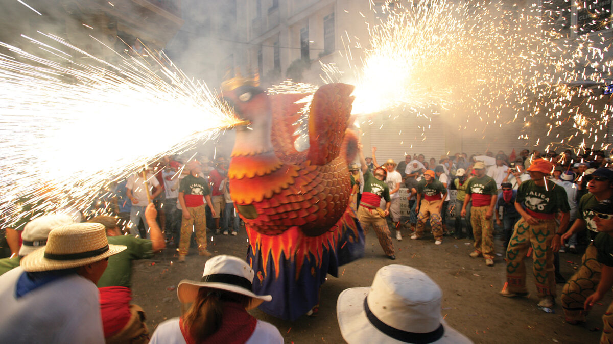 Correfocs - Festa Major - Sitges - Miguel Angel Alvarez